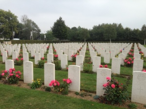 The British Cemetery in Bayeux