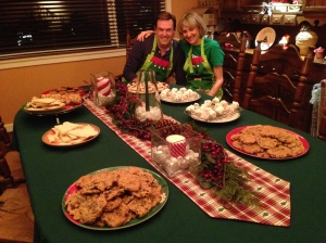 After six hours of baking, displaying the fruits of our Cookie-Palooza