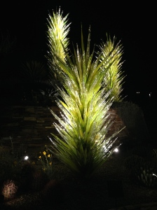 An example of the amazing exhibit of blown glass at the Desert Botanical Gardens