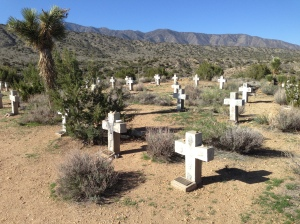 The Monks Cemetery, which was spiritual and beautiful and the best cellphone coverage