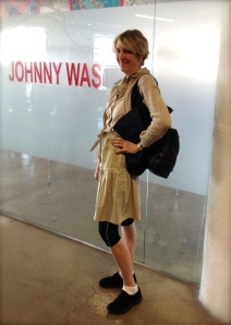 Modeling my Wal-Mart Chic at the Johnny Was showroom