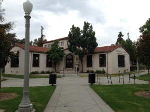 "My new ""office"" building in Pasadena."