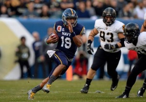 Keenan Reynolds, Navy Quarterback (Navy Athletics)